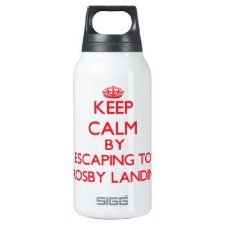 Gardez le calme par l'évasion à Crosby débarquant