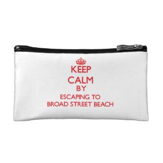 Gardez le calme par l'évasion à la plage Wiscon de Trousses Make-up
