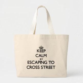 Gardez le calme par l'évasion pour traverser la ru sacs