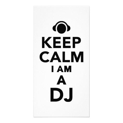 Gardez le calme que je suis le DJ Photocartes