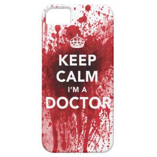 Gardez le calme que je suis un cas de l'iPhone 5 d Coques iPhone 5