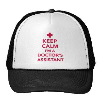 Gardez le calme que je suis un docteur auxiliaire casquettes