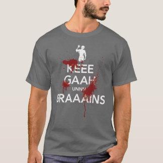 Gardez le calme - version de zombi - T-shirt