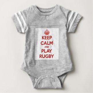 Gardez le rugby de calme et de jeu body