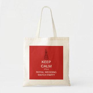 GARDEZ le sac fourre-tout royal CALME à Harry et à