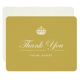 Gardez le soixantième carte de remerciements de