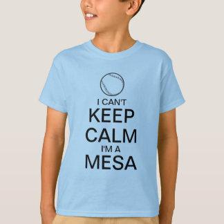 Gardez le T-shirt de base-ball du calme |