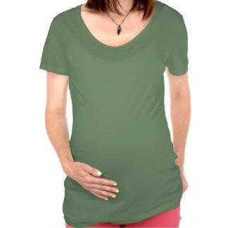 Gardez le T-shirt non de maternité calme