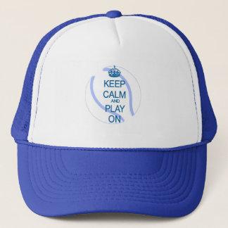 Gardez le tennis de calme et de jeu casquette