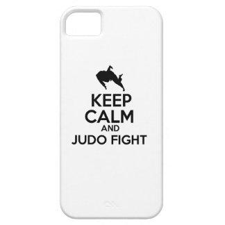 Gardez les conceptions calmes de judo coques iPhone 5