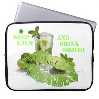 Gardez Mojito calme Housse Pour Ordinateur Portable