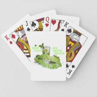 Gardez Mojito calme Jeux De Cartes