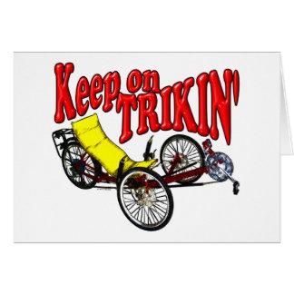 Gardez sur Trikin Carte De Vœux