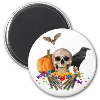 Gardien de sucrerie de Halloween Aimant
