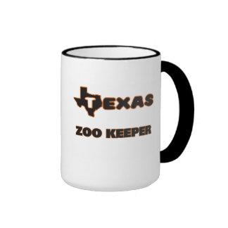 Gardien de zoo du Texas Mug Ringer