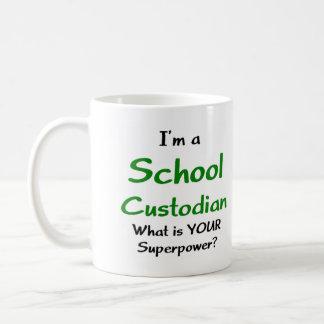 Gardien d'école mug