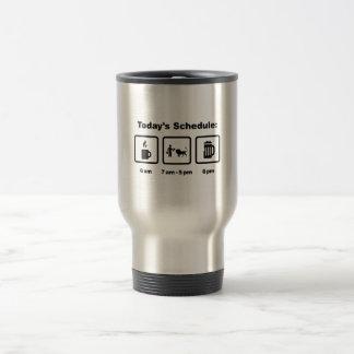 Gardien du zoo mug de voyage