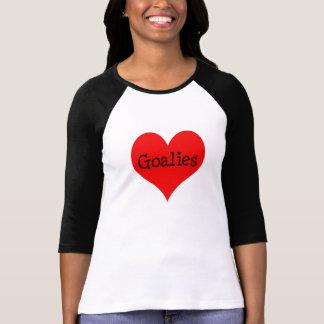 Gardiens de but de coeur t-shirt