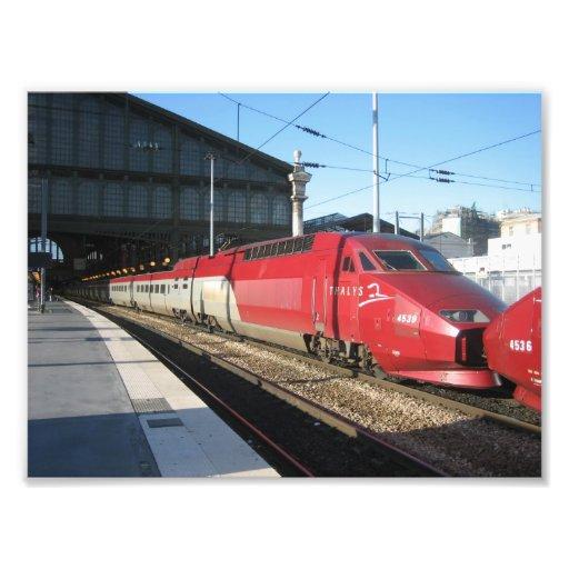 Gare du Nord Tirage Photo