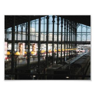 Gare du Nord Impression Photographique