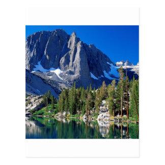 Garez la première sierra Nevada de lac Carte Postale