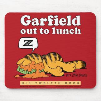 Garfield à déjeuner Mousepad Tapis De Souris