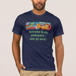 Garfield Logobox vont maintenant T-shirt parti