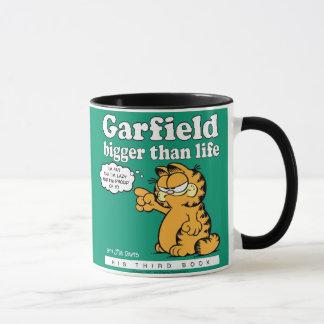Garfield plus grand que la tasse de la vie