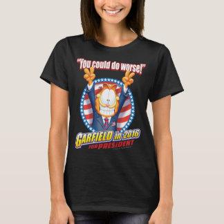 Garfield pour le président en 2016 t-shirt