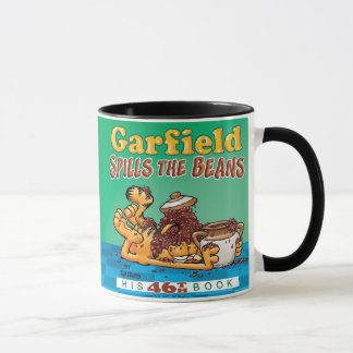 Garfield renverse la tasse d'haricots