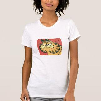 Garfield vintage, la chemise des femmes t-shirt