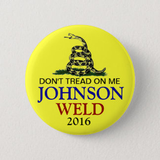 GARY JOHNSON 2016 BADGE