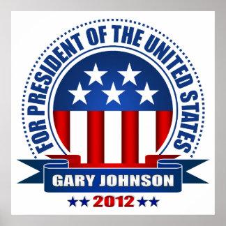 Gary Johnson Posters