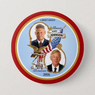 Gary Johnson pour le président Badges