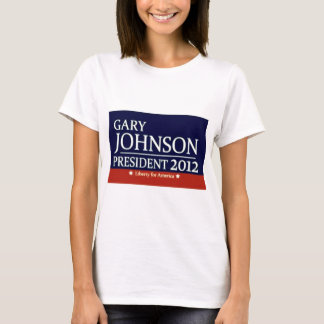 Gary Johnson pour le président T-shirt