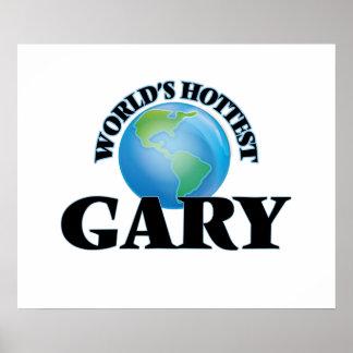 Gary le plus chaud du monde posters