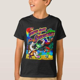 Gaspillé loin dans Barkaritaville T-shirt