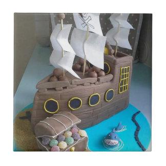 Gâteau 1 de bateau petit carreau carré