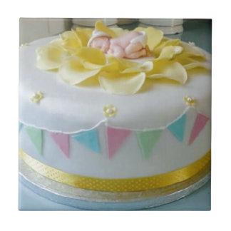 gâteau _birthday 2 petit carreau carré