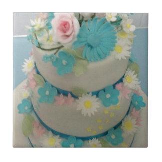 Gâteau d'anniversaire 1 petit carreau carré