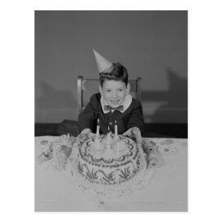 Gâteau d'anniversaire cartes postales
