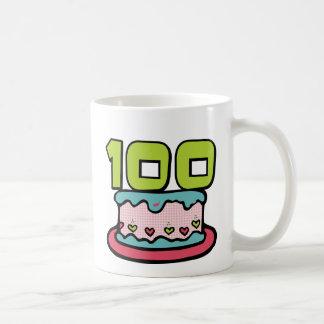 Gâteau d'anniversaire de 100 ans mug