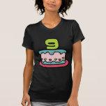 Gâteau d'anniversaire de 9 ans t-shirt