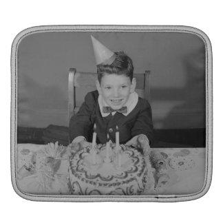 Gâteau d'anniversaire poches pour iPad