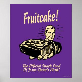 Gâteau de fruits secs ! Le casse-croûte de la Posters