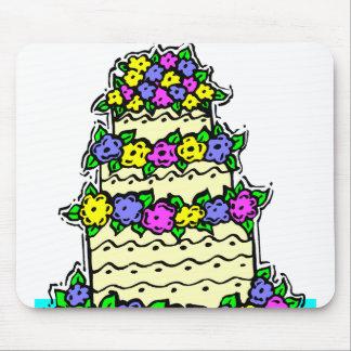 Gâteau de mariage tapis de souris