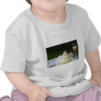 Gâteau de mariage t-shirts