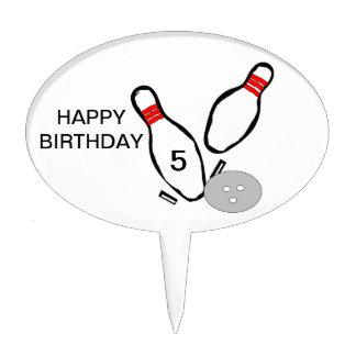 Gâteau de roulement Topper de joyeux anniversaire Piques À Gâteaux