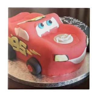 Gâteau de voiture de McQueen Petit Carreau Carré