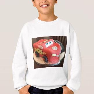 Gâteau de voiture de McQueen Sweatshirt